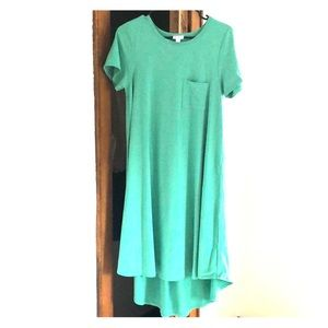 ⭐️LuLa Roe Teal Tee Shirt Dress-SMALL⭐️